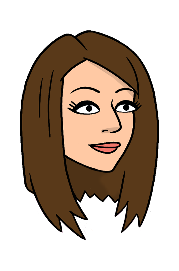 a headshot of the animated character Harper Switzer, voiced by actress Andrea Savage
