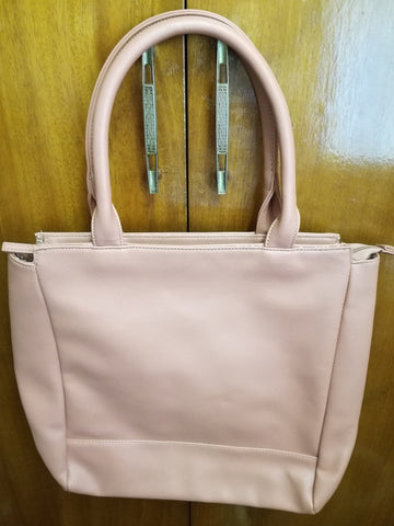 LARGE OFF PINK SHOPPER