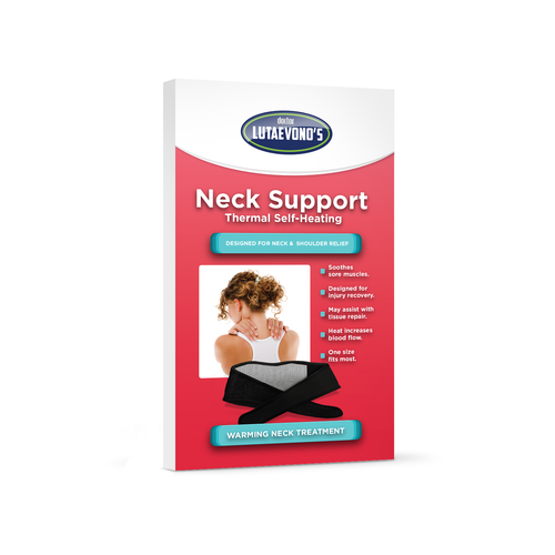 SELF-HEATING NECK SUPPORT