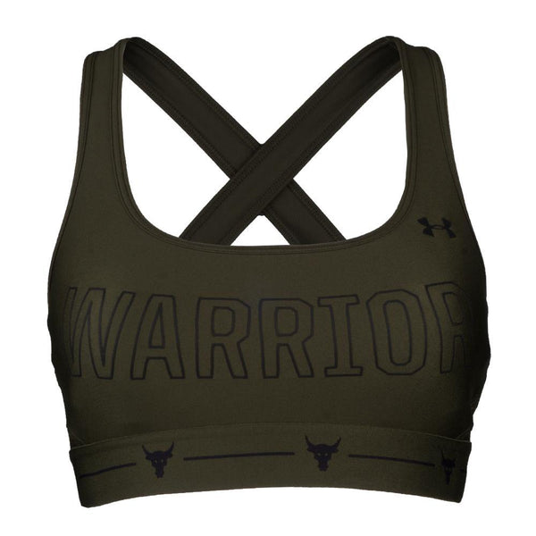 Project Rock Armour® Mid Crossback Warrior Sports Bra - MissFit