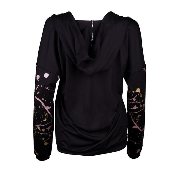 Metal Splash Lux Wrap Hoody - MissFit