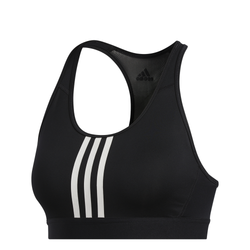 DON'T REST ALPHASKIN PADDED 3-STRIPES BRA