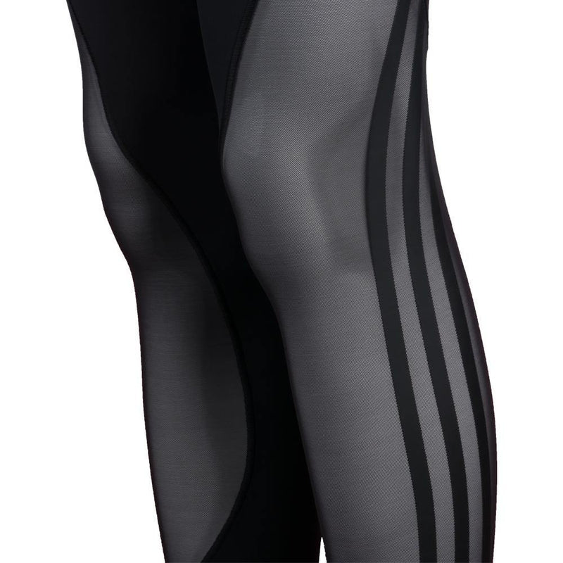 BELIEVE THIS 2.0 3-STRIPES MESH LONG TIGHTS - MissFit