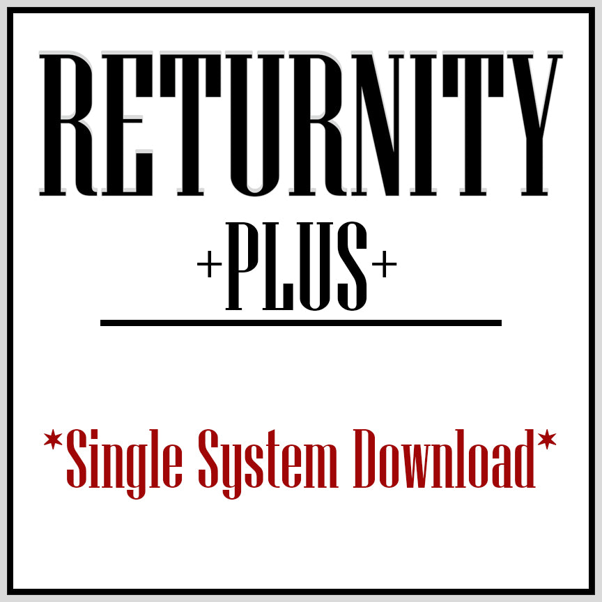 Returnity PLUS: Single System Download