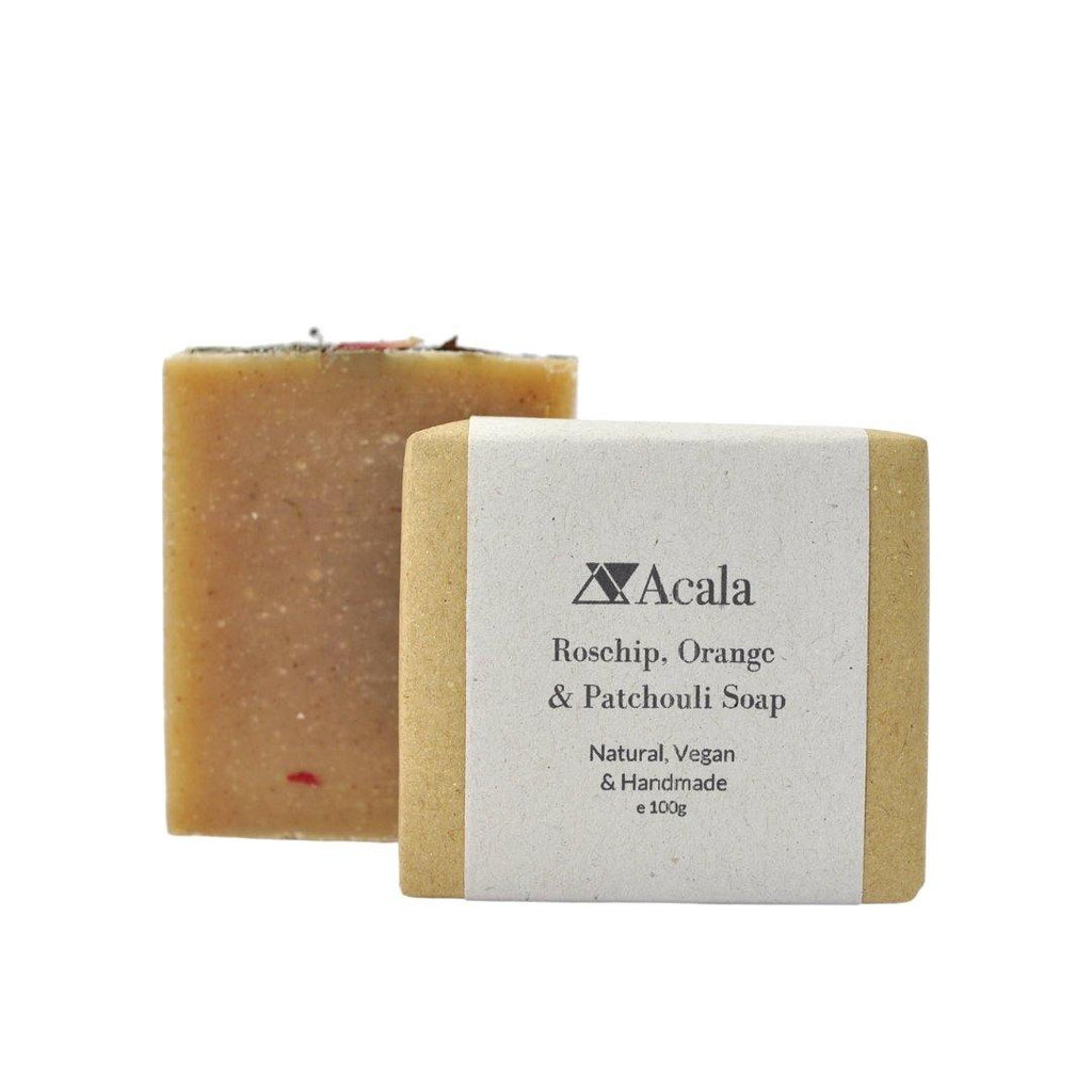 Acala Soap Bar Rosehip, Orange and Patchouli Soap