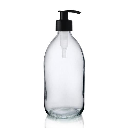 Reusable Glass Sirop Bottle