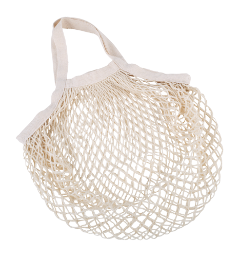 Netted Cotton Shopping Bag