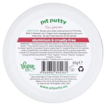 Pit Putty Natural Deodorant Rose Geranium
