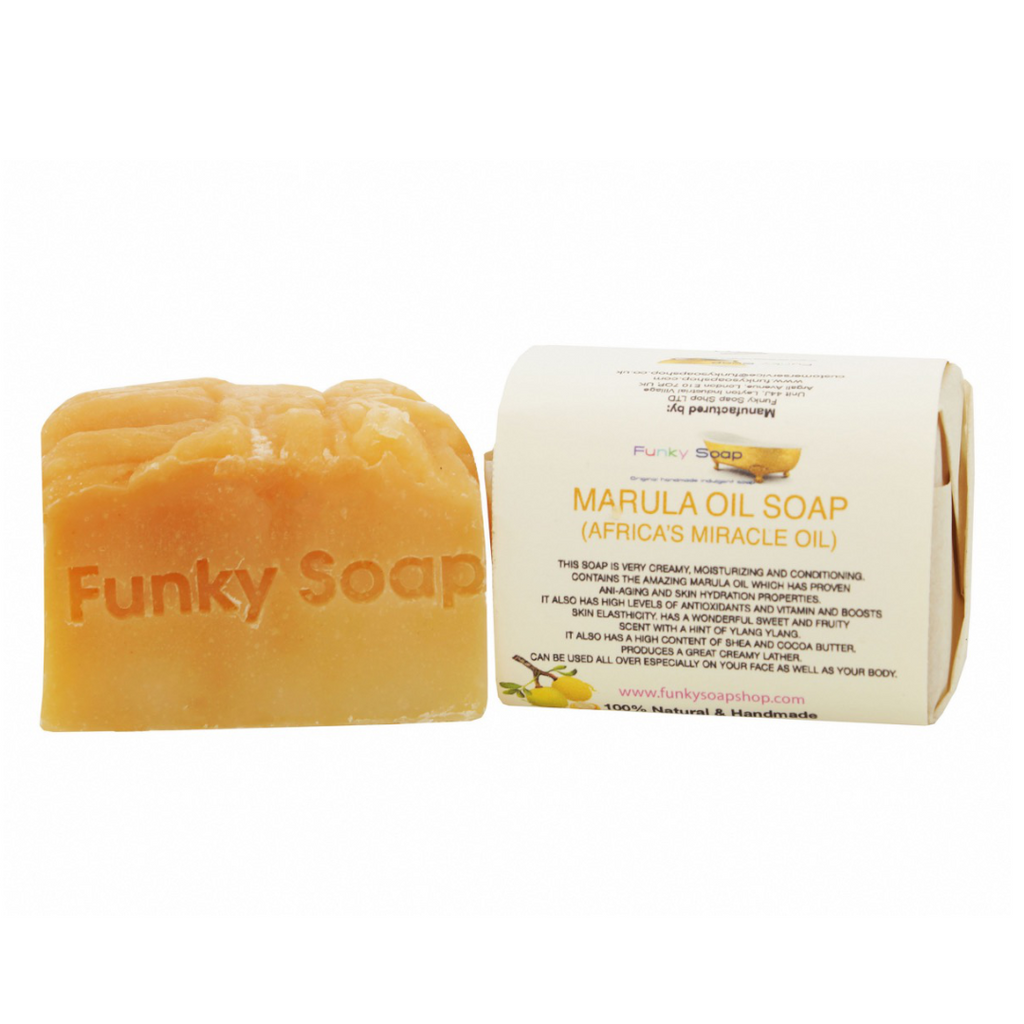 Funky Soap Marula Oil (Africas Miracle Oil) Soap Bar