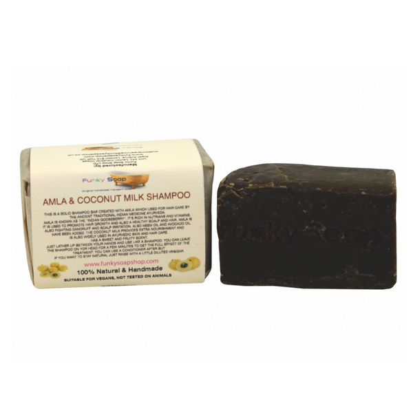 Funky Soap Amla & Coconut Milk Shampoo Bar