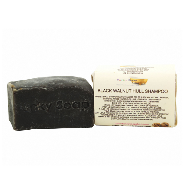 Funky Soap Black Walnut Shampoo Bar