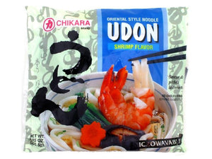 Chikara Udon With Soup (Shrimp Flavor)