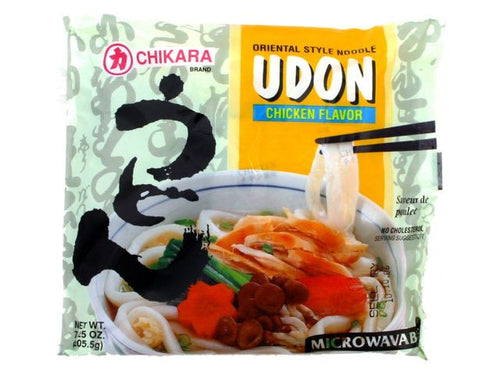 Chikara Udon With Soup (Chicken Flavor)
