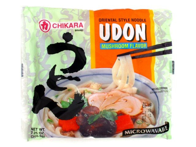 Chikara Udon With Soup (Mushroom Flavor)