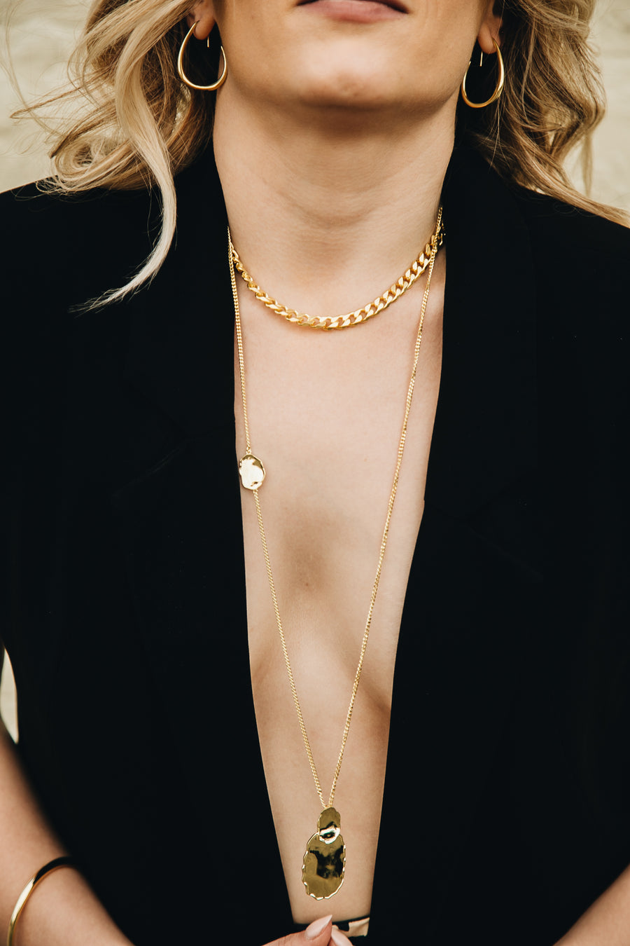 Everyday collar necklace