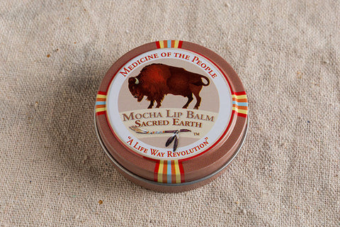 Mocha Lip Balm - Sacred Earth