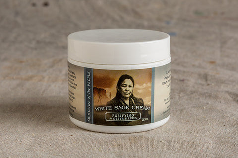 White Sage Cream - Purifying Moisturizer
