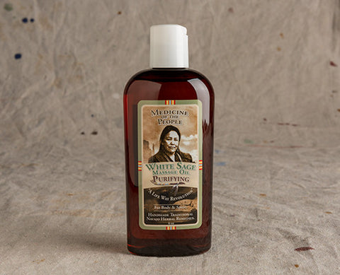 White Sage Massage Oil - Purifying