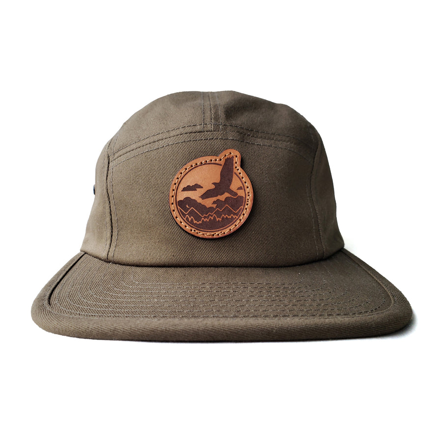 Trailscape Leather Patch Camper Hat