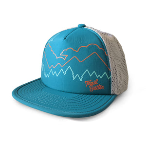 Trail Butter x Territory Run Co. Loowit Athletic Trucker - Teal