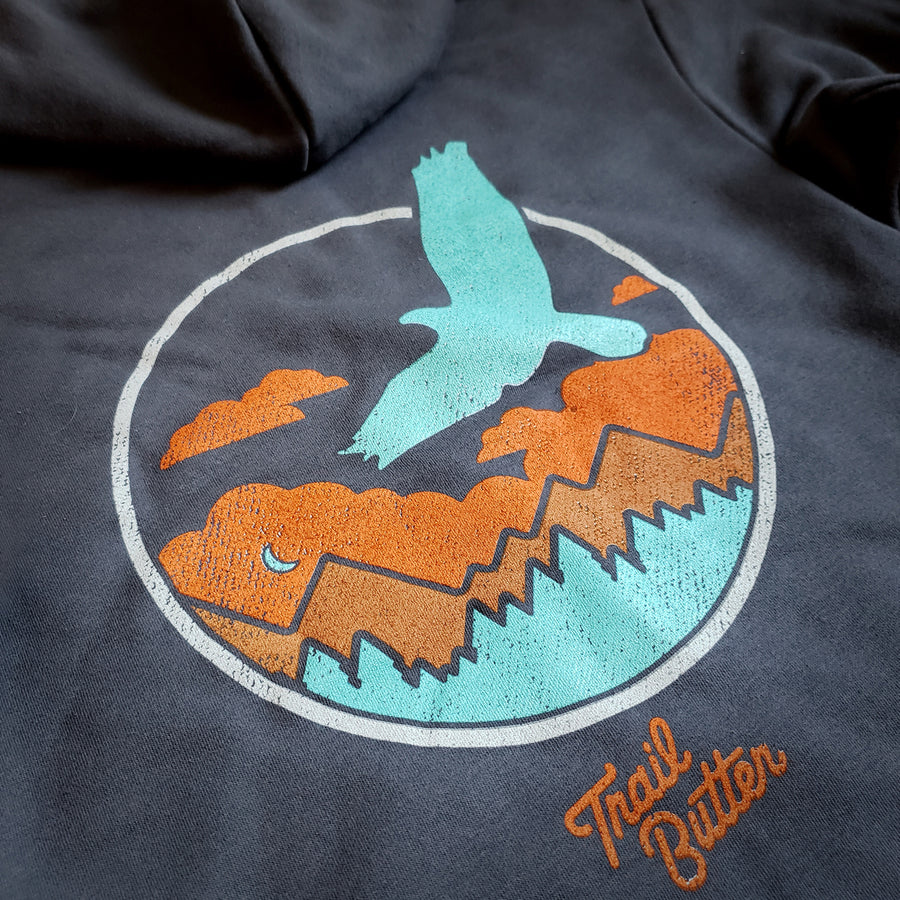 TERRITORY RUN CO. TRAILSCAPE  FULL-ZIP HOODIE - UNISEX