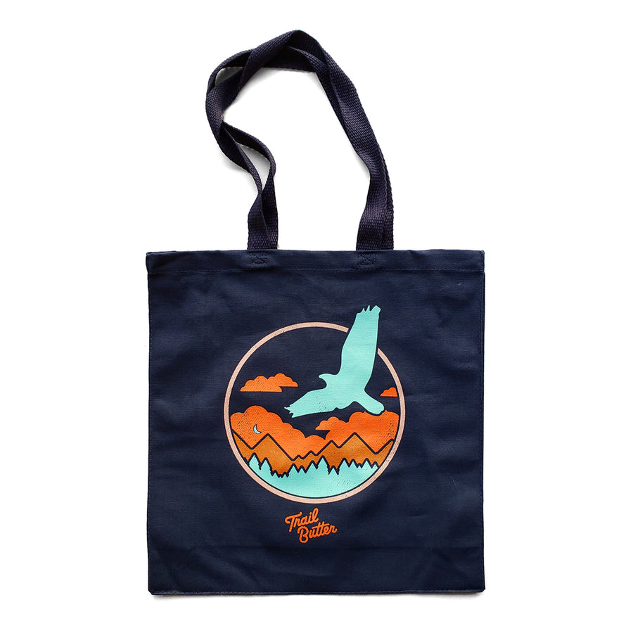 Trail Butter Trailscape Canvas Tote - Navy