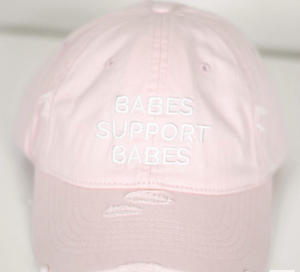 Babes Support Babes Hat