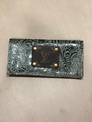 Louis Vuitton Check book cover