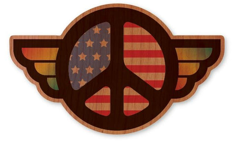 American Peace Sign