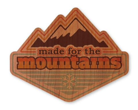 Mountains Badge