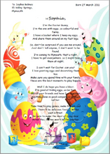 Load image into Gallery viewer, Easter Bunny Poem