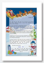 Load image into Gallery viewer, Christmas Letter