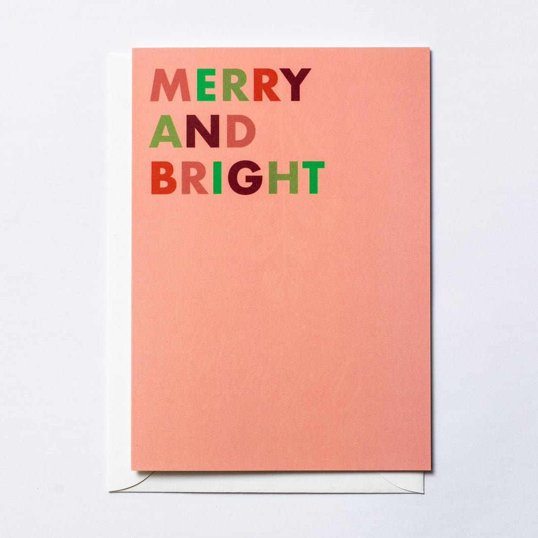 Merry and Bright (block)