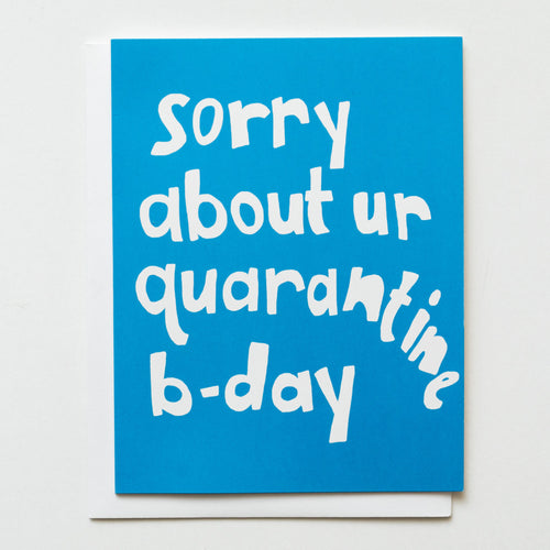 Neon Quarantine Birthday