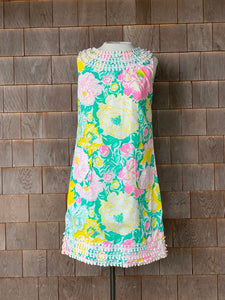 Early Vintage Lilly Yellow and Pink