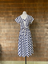 Load image into Gallery viewer, Blue/White Sailor Dress SALE