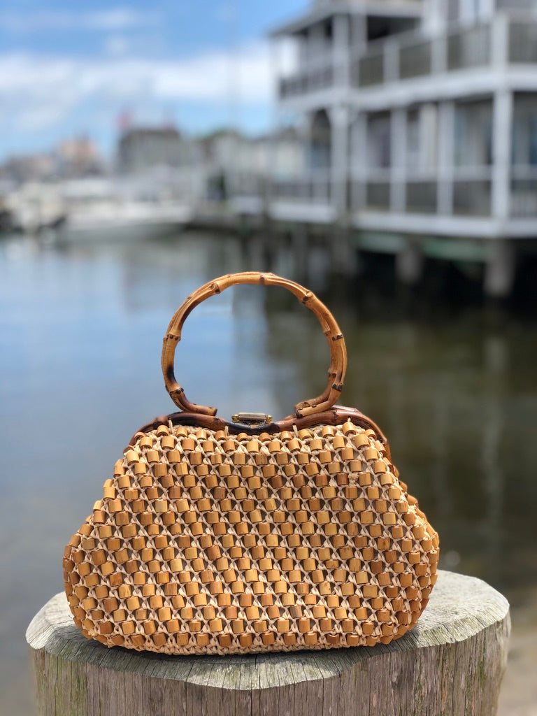 1960s Gaymode Bag with Bamboo