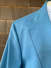 "Load image into Gallery viewer, Lilly ""Men's Stuff"" Blue Jacket"