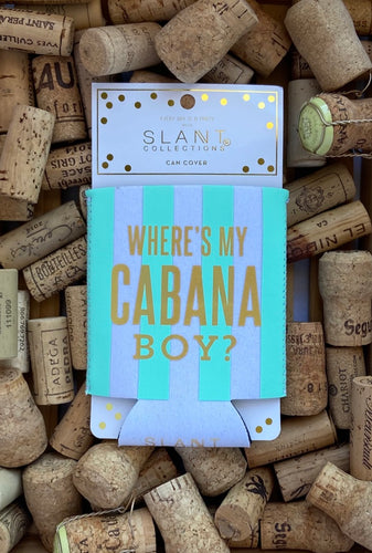Where's My Cabana Boy? Can Cover