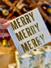 Load image into Gallery viewer, NAPKIN - Merry, Merry