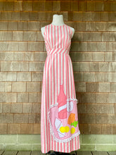 Load image into Gallery viewer, Pink Stripe Picnic Maxi