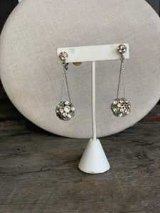 Disco Ball Drop Earrings