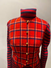 Load image into Gallery viewer, Young Pendleton Plaid Vest