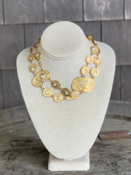 PAULINE RADER Coin Necklace