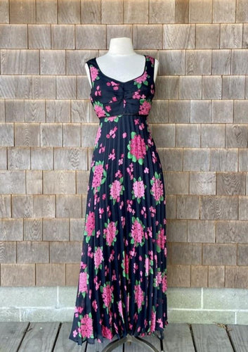 Emiliana Wendel Black and Pink Dress