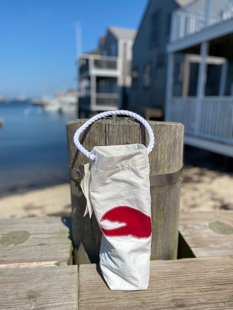 SEA BAG WINE RED CLAW