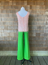 Load image into Gallery viewer, 1960s Light Pink Beaded Top with Fringe
