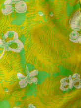 Load image into Gallery viewer, Lilly Maxi Green/Yellow Cat and Butterflies