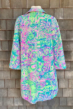 Load image into Gallery viewer, Rare Lilly Pulitzer Pink & Green Coat