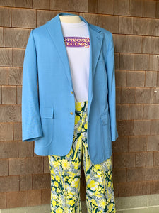 "Lilly ""Men's Stuff"" Blue Jacket"